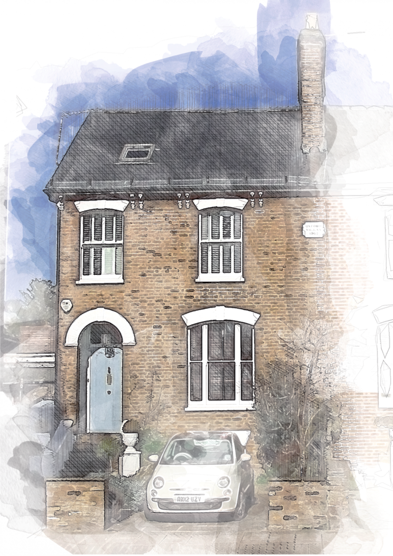 Stylish Custom Watercolour Home Prints.-3 Simple Reasons to Buy our Portrait Framed Prints 2